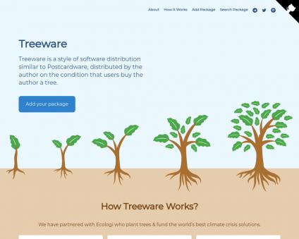 Treeware Earth