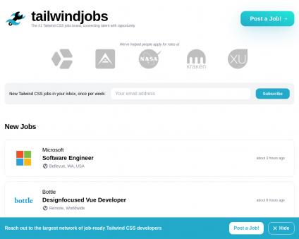 Tailwind Jobs